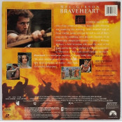 Braveheart - Gatefold Widescreen 2 Disc Edition Laser Disc