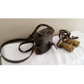 Cold Mountain - Antique Binoculars and Carrying Case