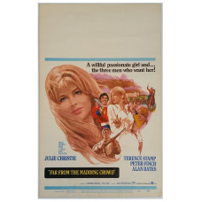 Far from the Madding Crowd - Original 1968 MGM Window Card