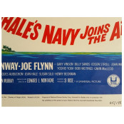 McHale's Navy Joins the Air Force - Original 1965 U.S.A. Window Card