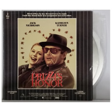 Prizzi's Honor - 1985 ABC Picture - Extended Play 2 Disc Laser Videodisc