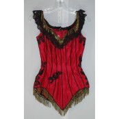 Showgirl's Camisole - Original Costume from the 1940's to 1960's